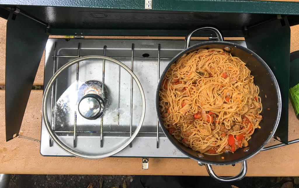Large Pot Of Spaghetti