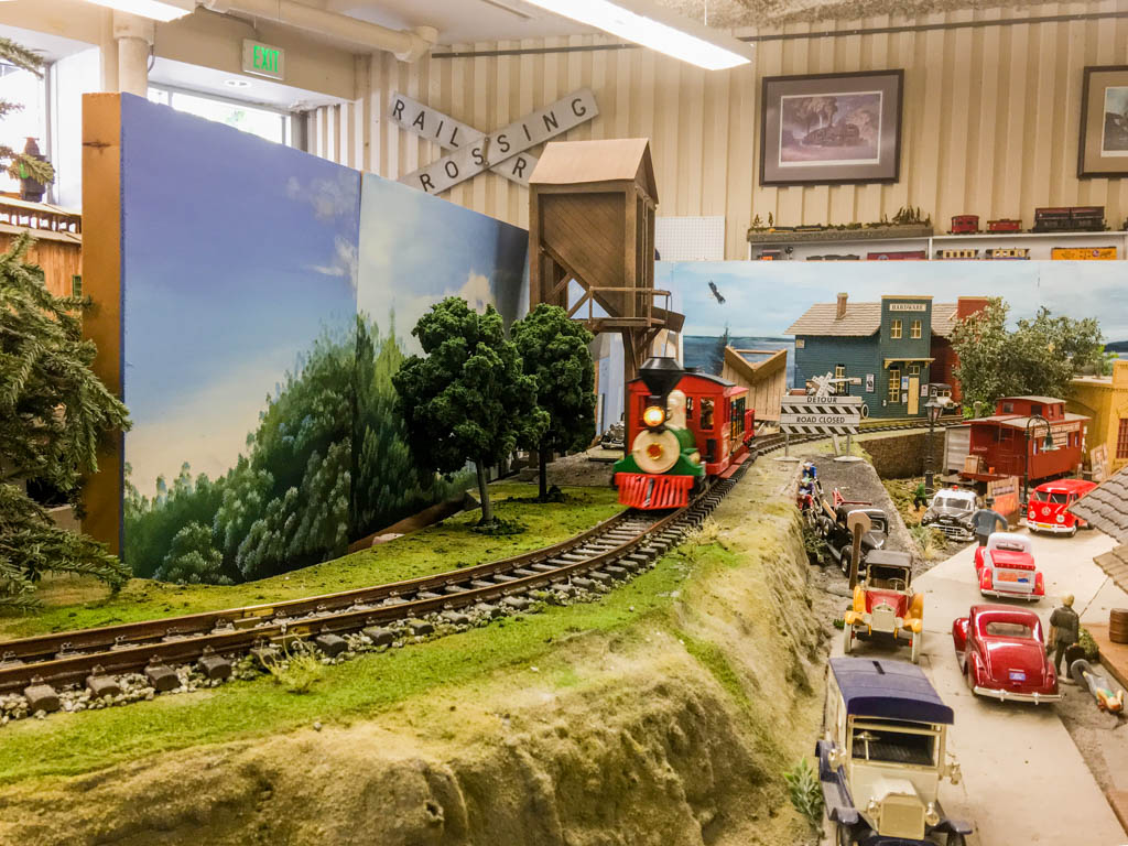 Short Passenger Train Pulled By Steam Locomotive