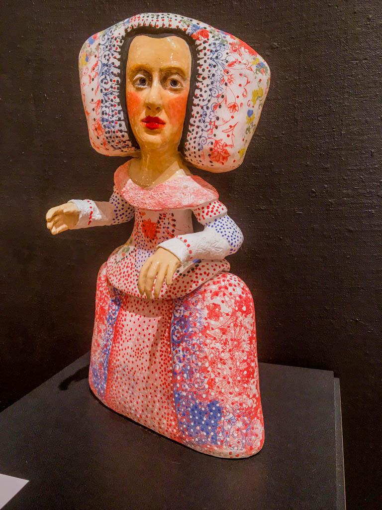 Local Artists Exhibit Sculpture