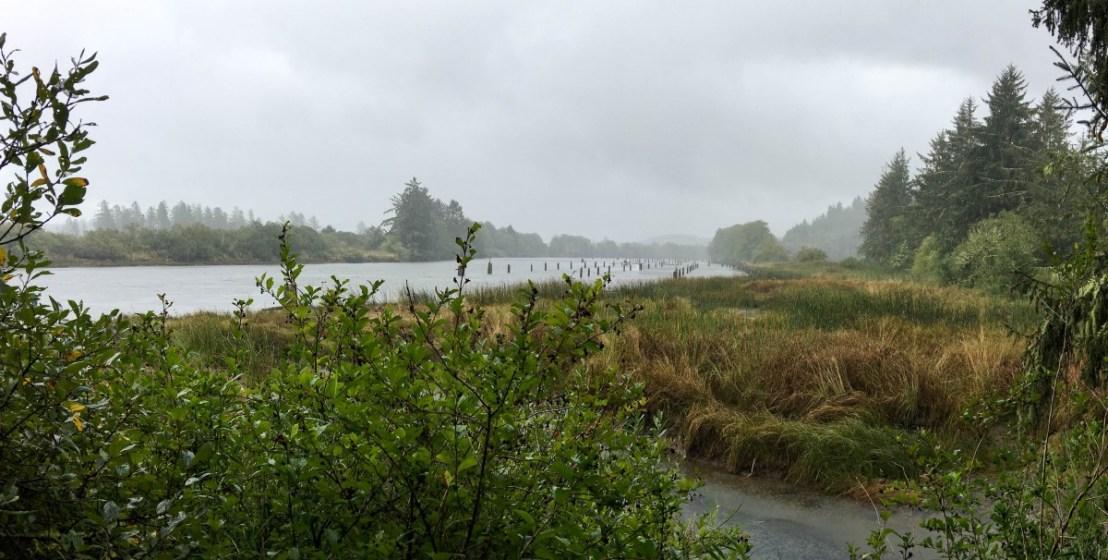 Canoe Landing Area Seen From Overlook