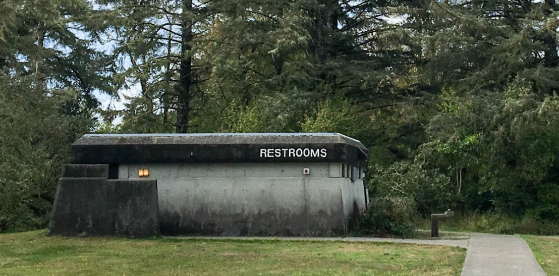 Closed Public Restrooms