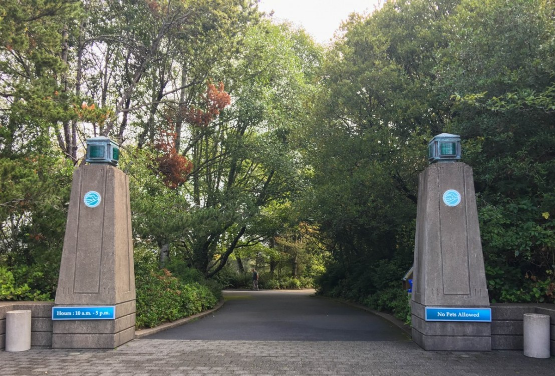Aquarium Entrance
