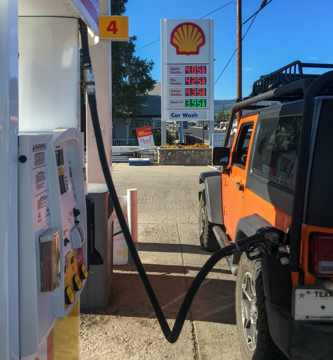 California High Fuel Prices