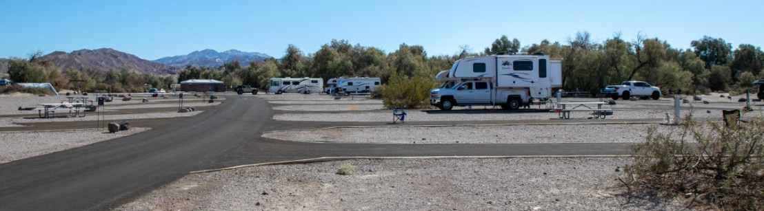 NPS Furnace Creek Campground Campsites