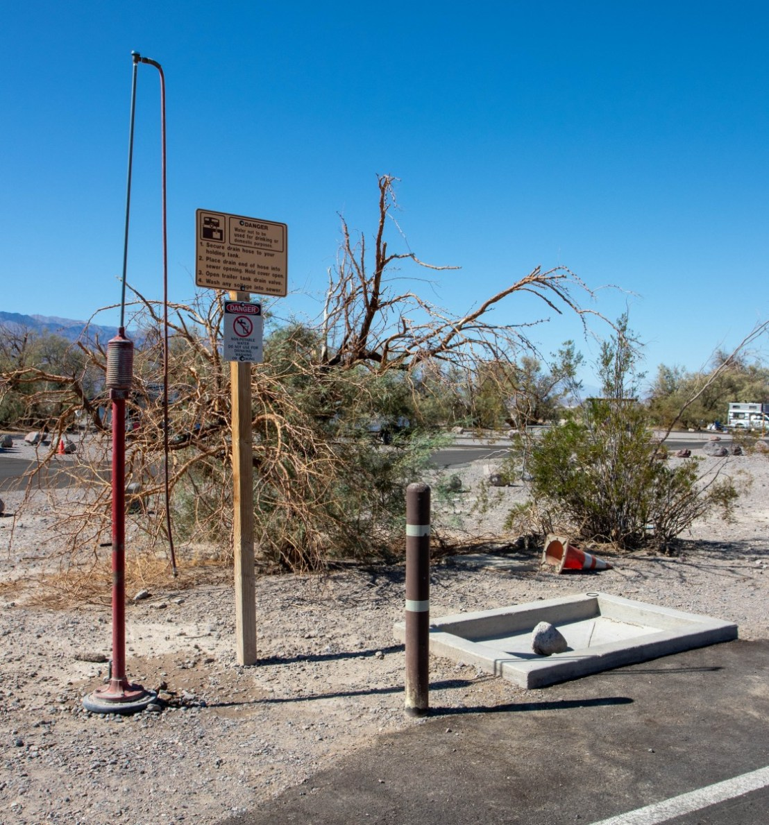 NPS Furnace Creek Campground Dump Station