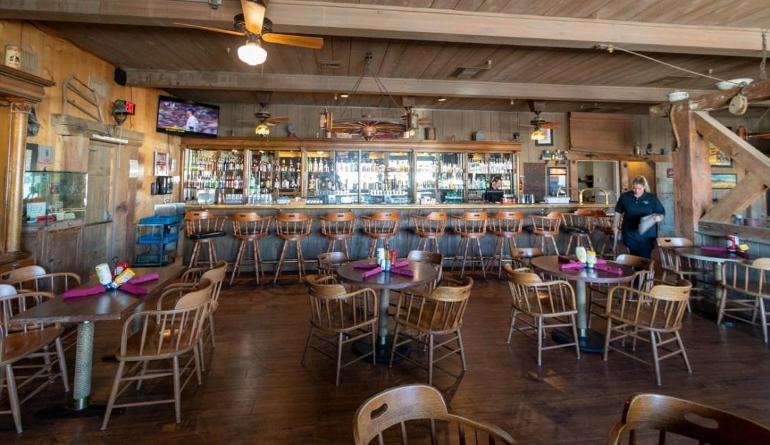 Badwater Saloon's Bar