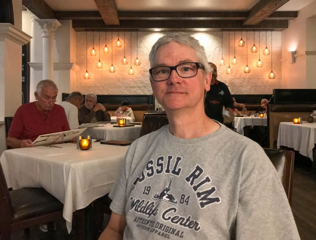 Larry At The Angry Butcher Steakhouse In Sam's Town