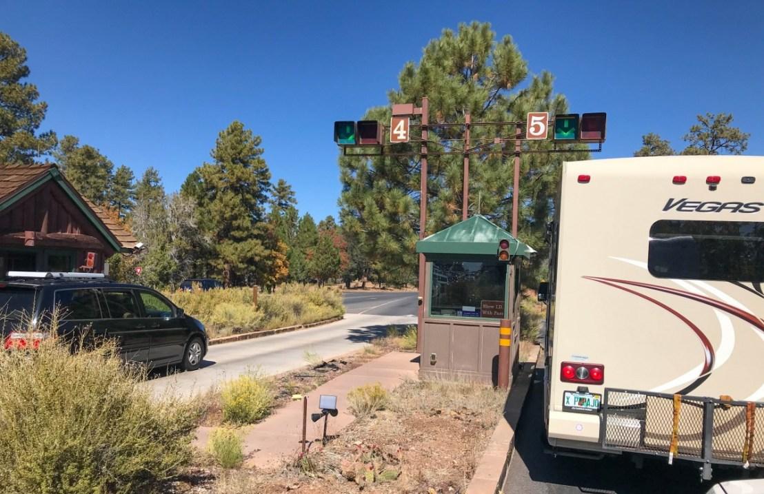 Grand Canyon National Park Entrance