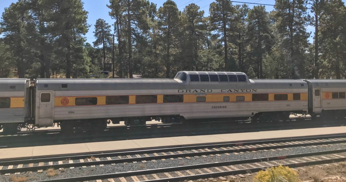 Grand Canyon Railroad Observation Car