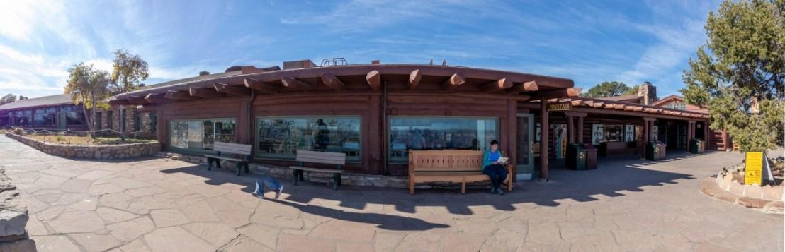 Canyon Rim Trail Side of Bright Angel Lodge