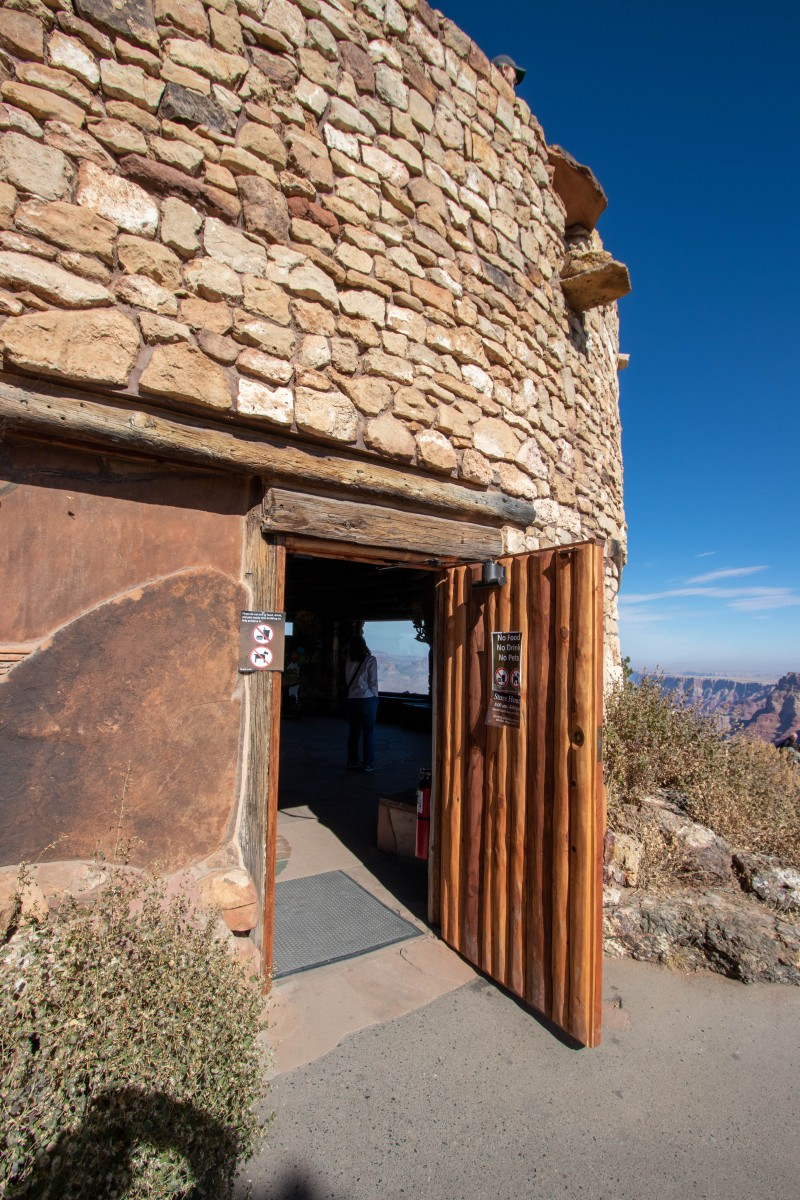 Desert View Watchtower Entrance