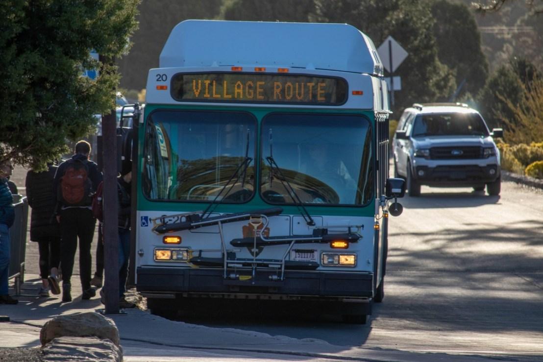 Village (Blue) Route Buses