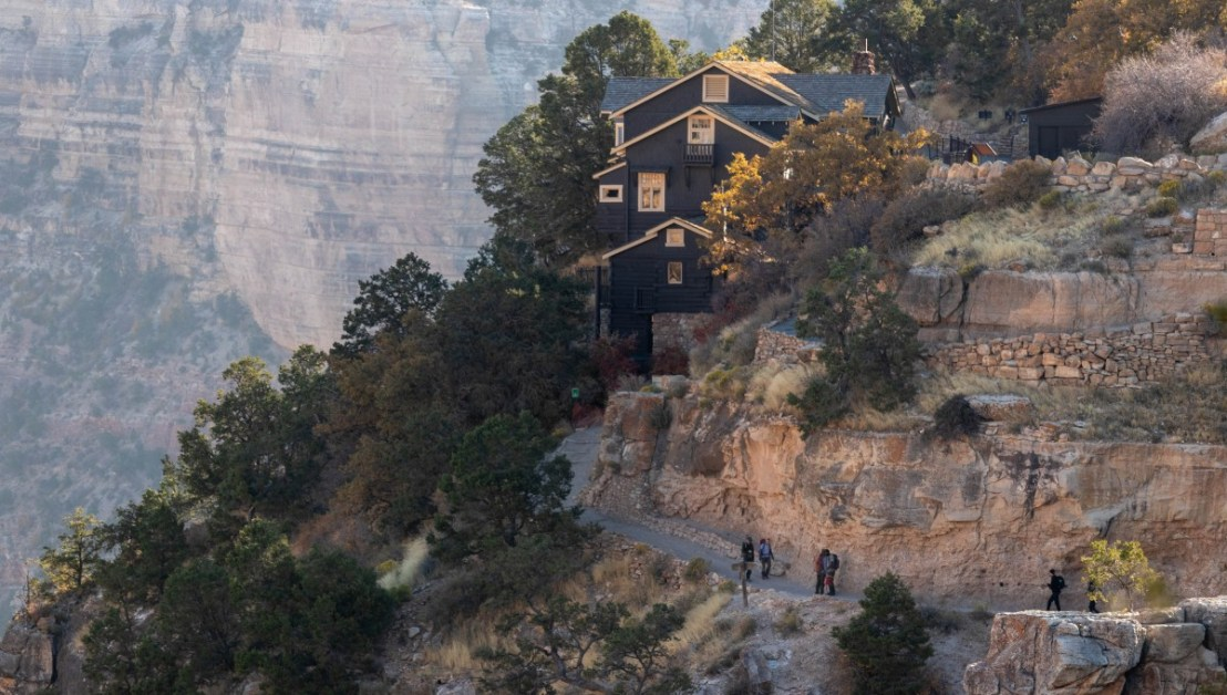 Grand Canyon National Park Bright Angel Trail Passes Kolb Studio