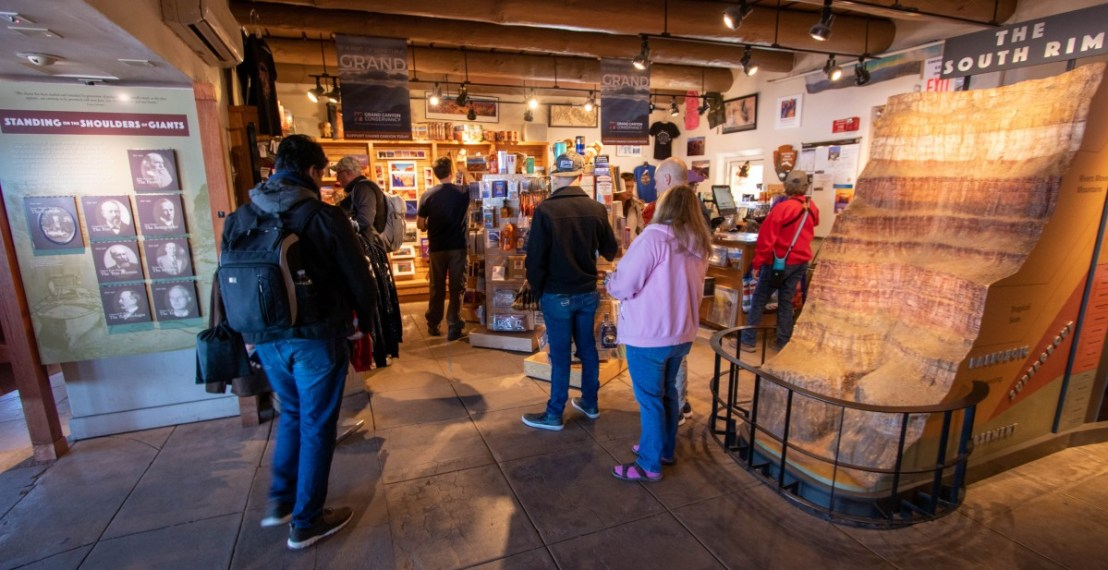 Grand Canyon National Park Yavapai Geology Museum Gift Shop