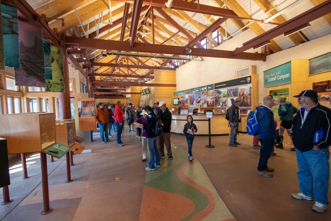 Grand Canyon National Park South Rim Visitor Center Ranger Desk