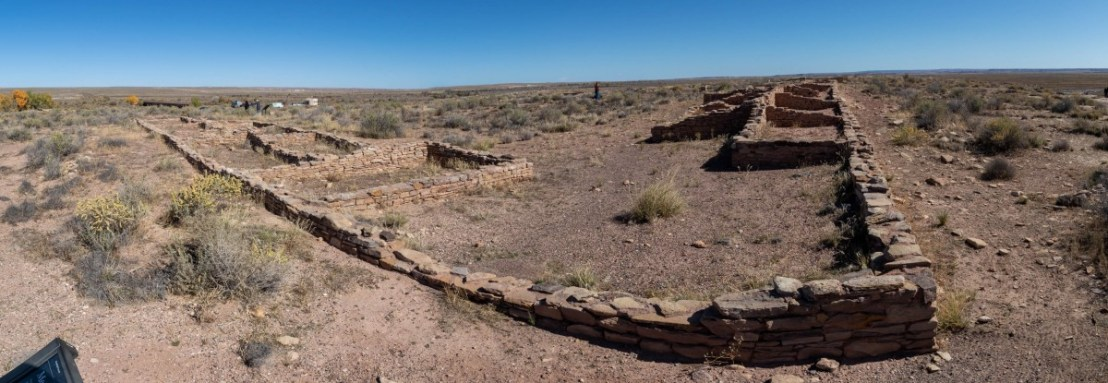 Petrified Forest National Park Puerco Pueblo Ruins