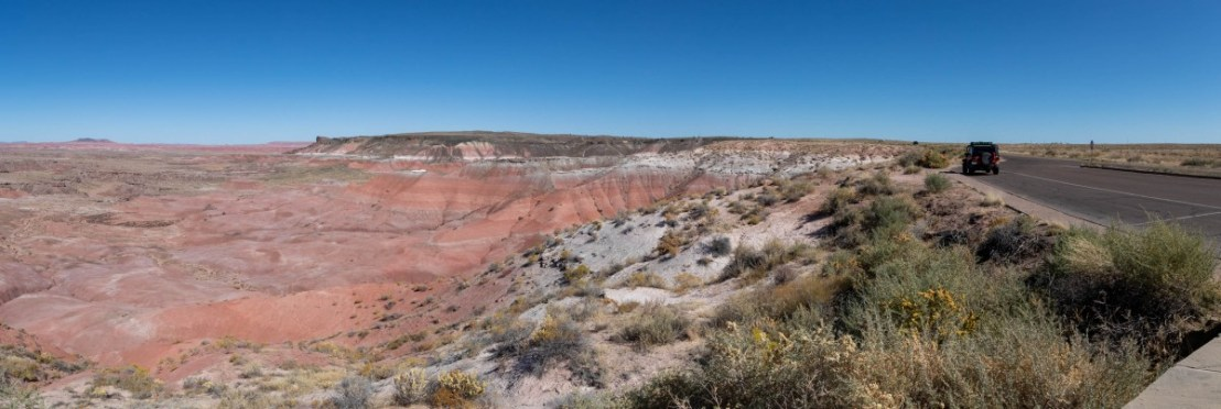 Petrified Forest National Park Pullout