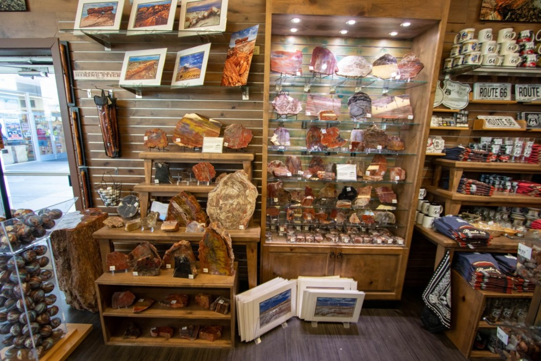 Petrified Forest National Park Painted Desert Oasis Gift Shop