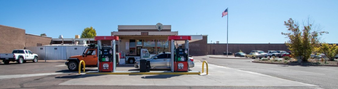 Petrified Forest National Park Gas Station
