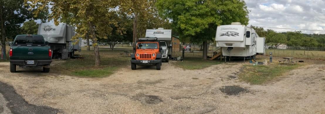 Back-In Corner Campsite