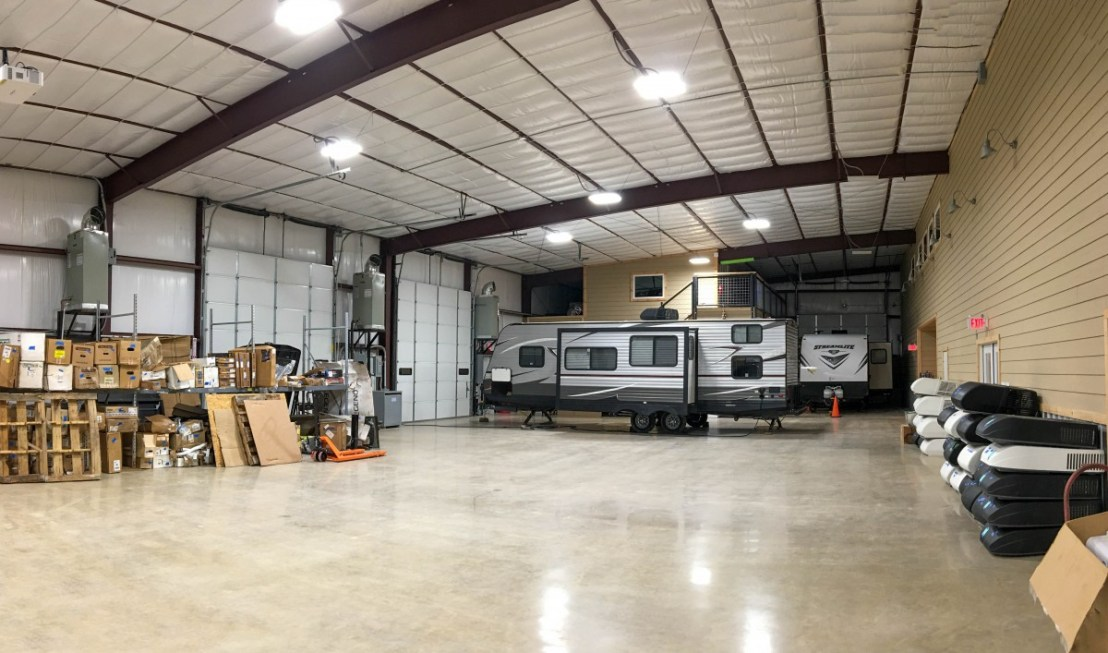 Warehouse Space With RV Bays