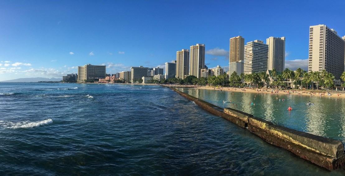 Waikiki & The Four Paddle