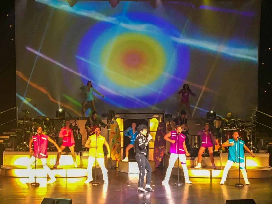 Michael Jackson Impersonator On Stage