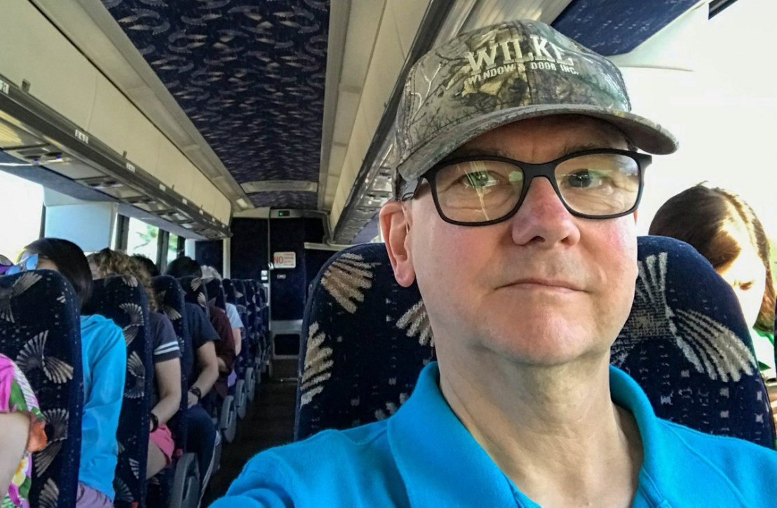Riding Roberts of Hawaii Bus To Ford Island