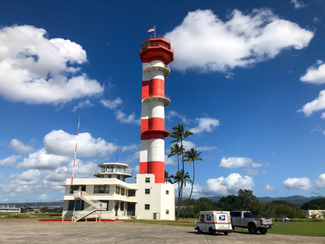 Pearl Harbor Naval Air Station Control Tower