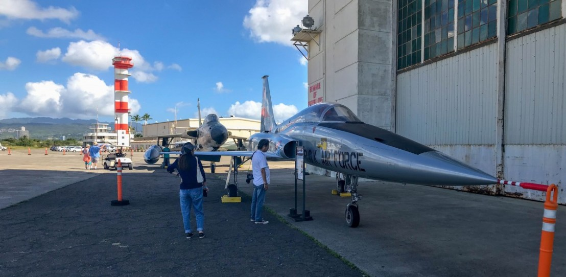 Northrup F5A Fighter Jet