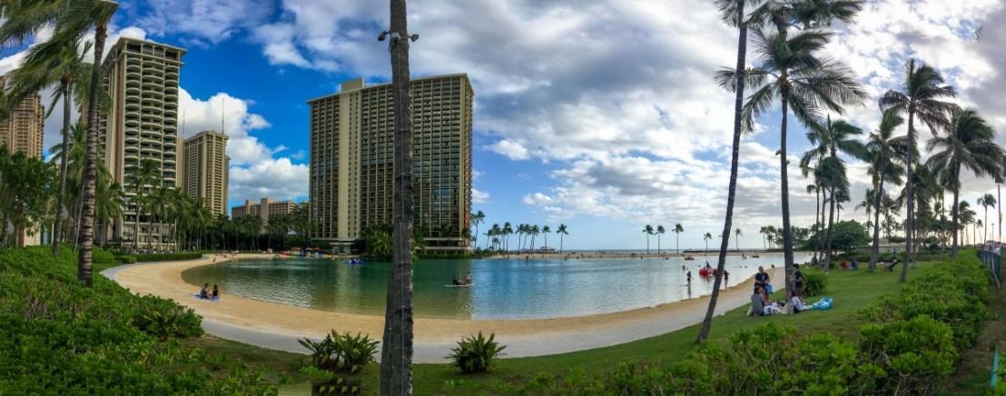 Hilton Lagoon, Part of Hilton Hawaiian Village
