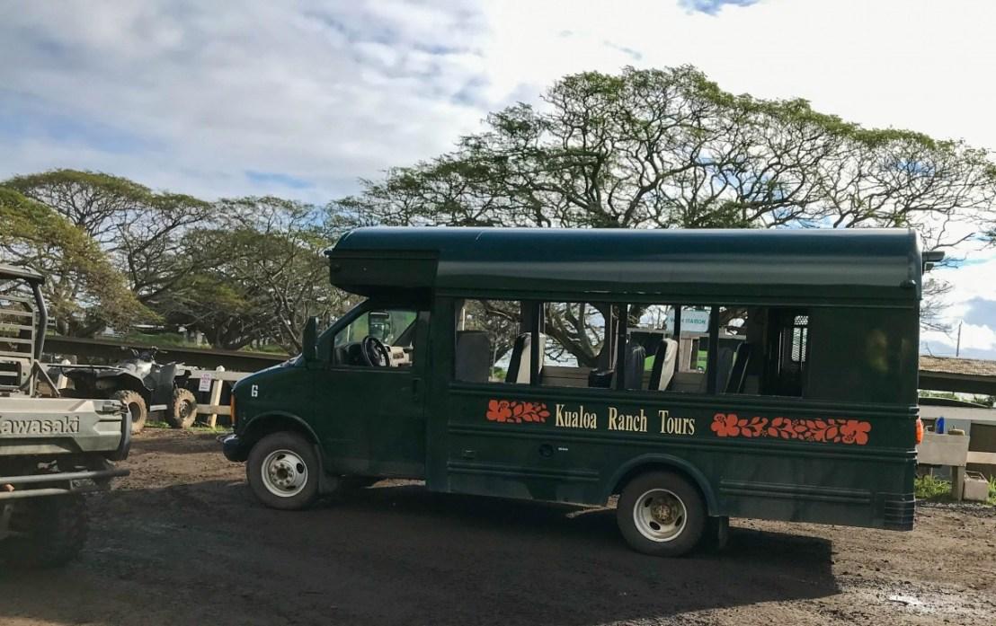 Kualoa Ranch Tour Bus