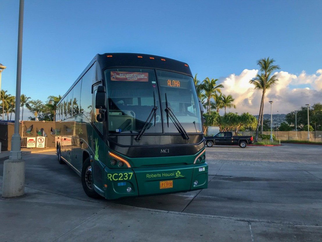 Roberts of Hawaii Shuttle To Ford Island Sites