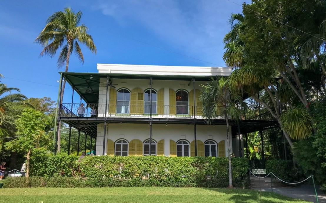 Hemingway House As Seen From Side Yard