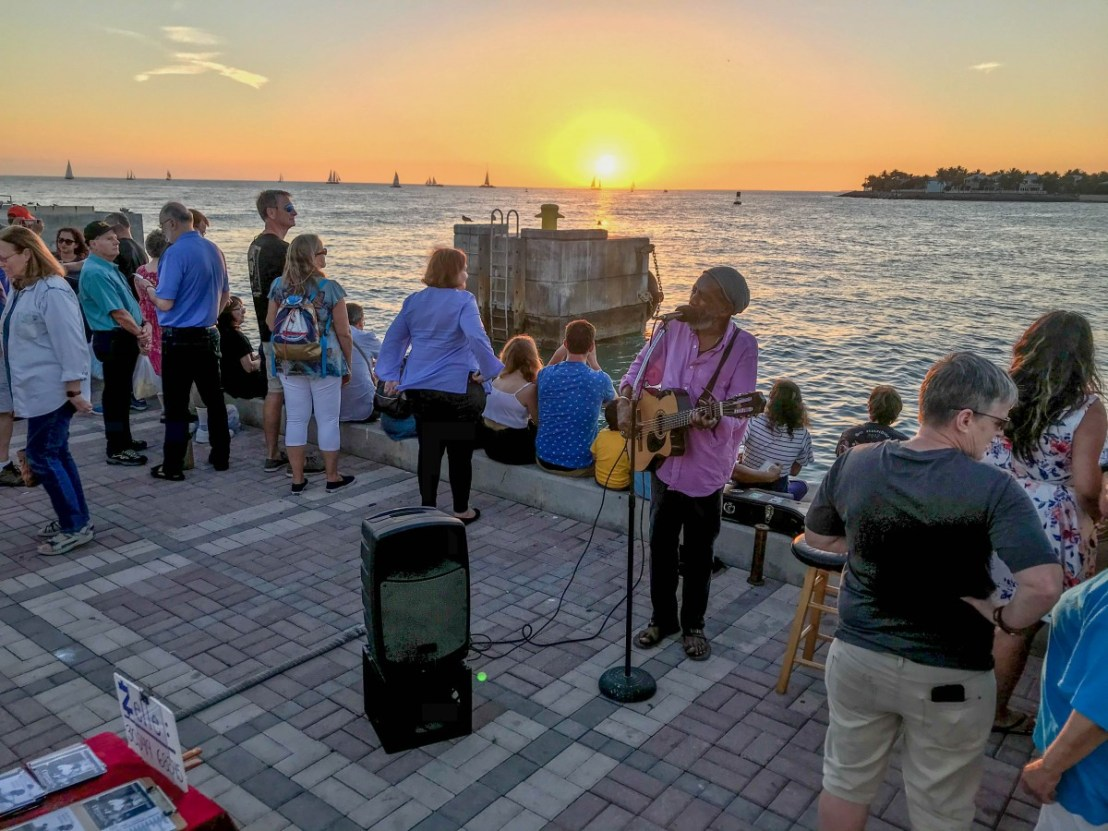 Mallory Square Musical Performance