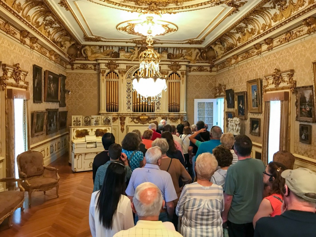 Docent Led Tour In Whitehall Music Room