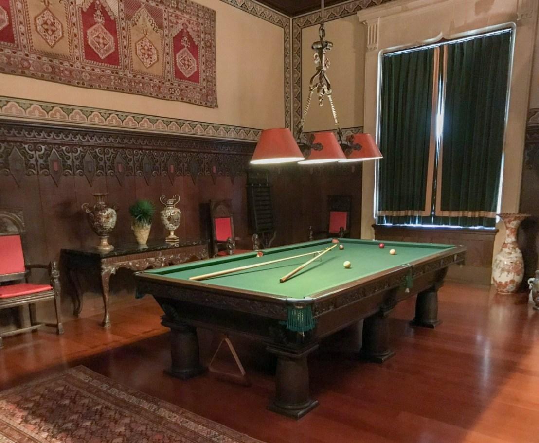 Whitehall Billiard Room