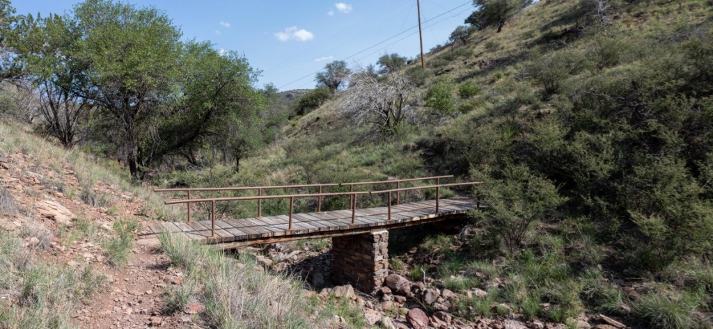 Second Keesey Canyon Bridge