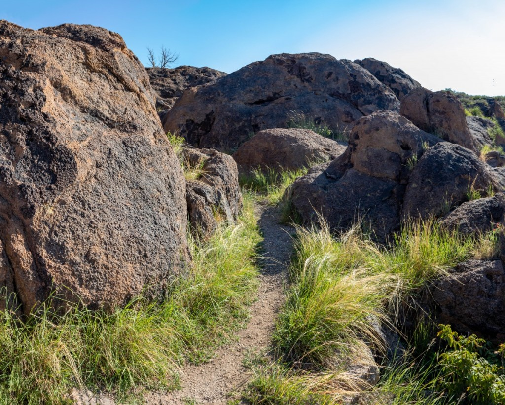 Boulder Field Path