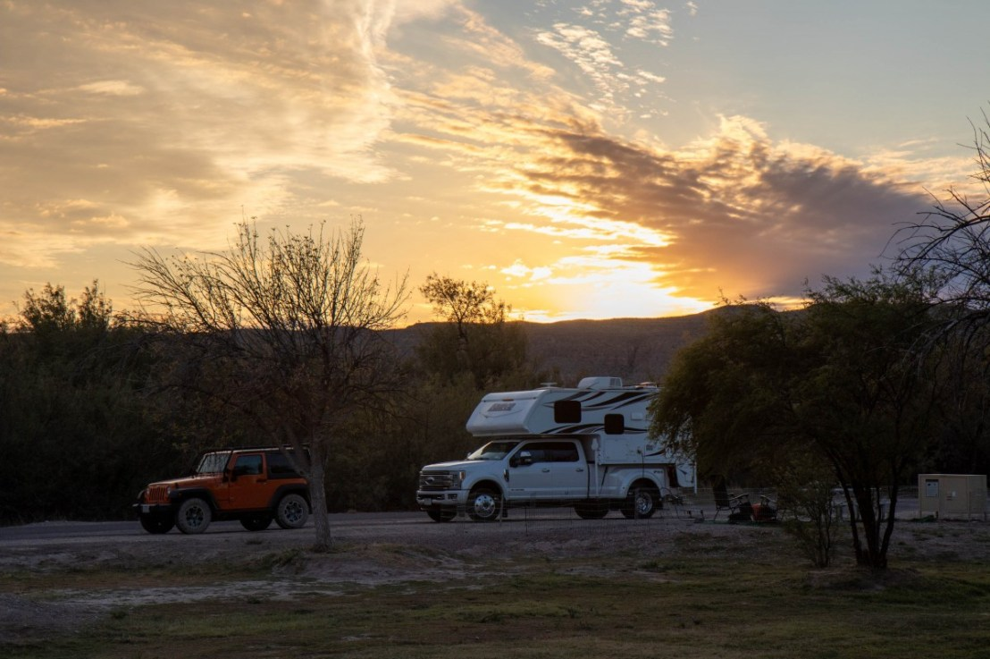 Big Bend National Park – Rio Grande Village Campground