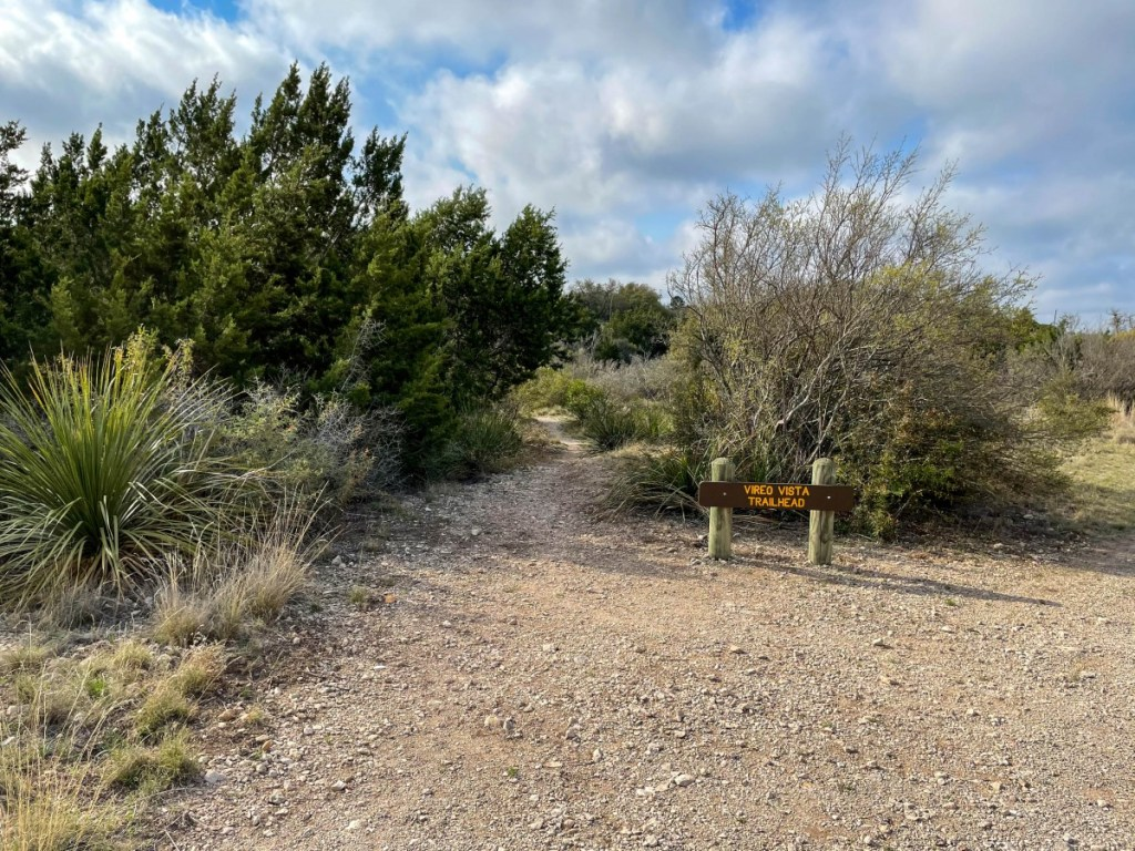 Vireo Vista Trailhead On Main Park Road