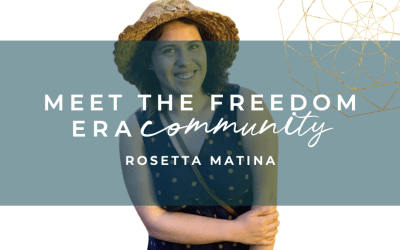 Meet The Freedom Era Community – Rosetta Matina