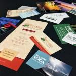 custom business card, brochure, post card and rackcard printing