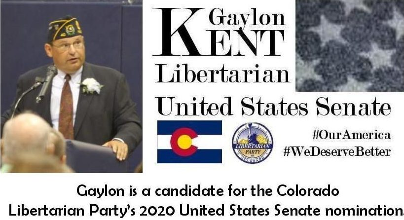 Gaylon Kent For United States Senate