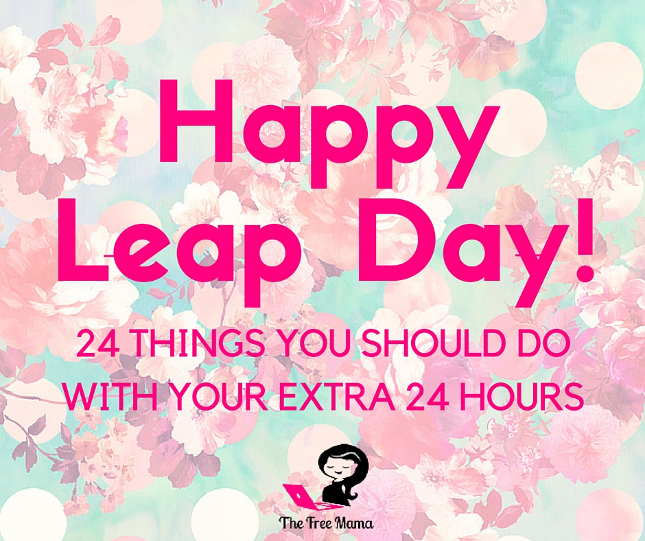 Leap Day too busy
