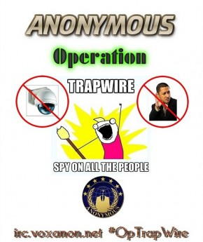 Trapwire is watching us... Wikileaks vs. the CIA.. 'Smash A Cam Saturday' (4/4)