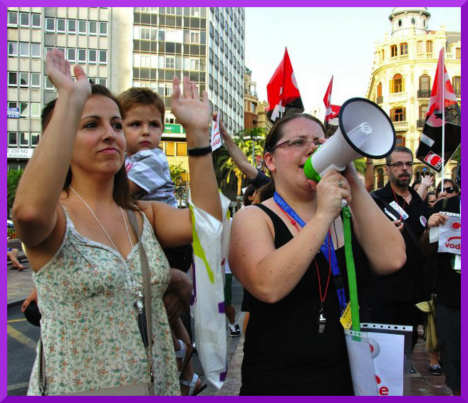 Demos in Spanish State for Womens' Reproductive Rights (4/5)