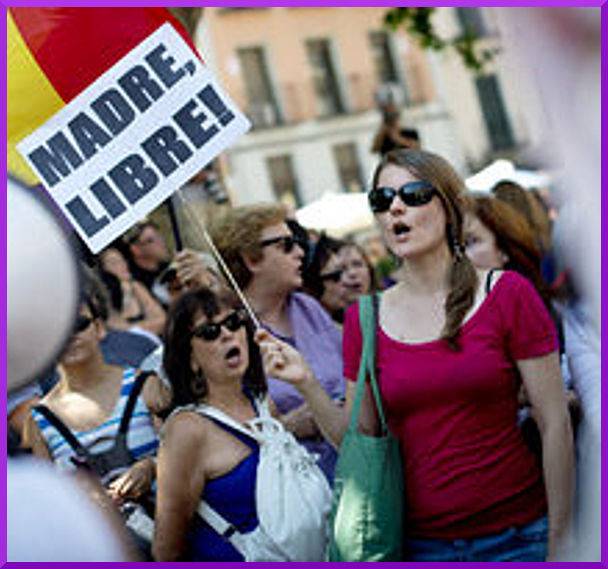 Demos in Spanish State for Womens' Reproductive Rights (5/5)