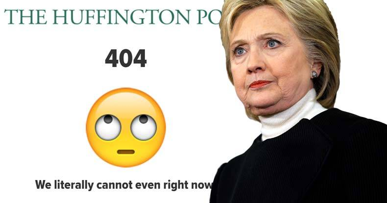 huffington post caught deleting