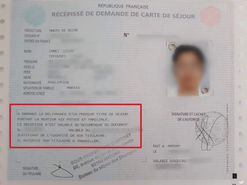 How To Apply For A Carte De Sejour Or French Residency Card